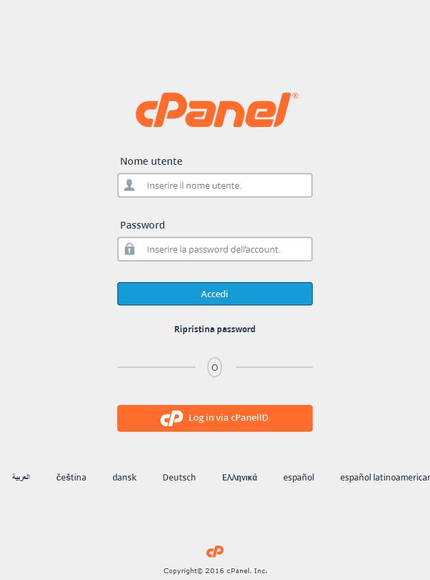 Come creare un database e relativo utente utente in CPanel