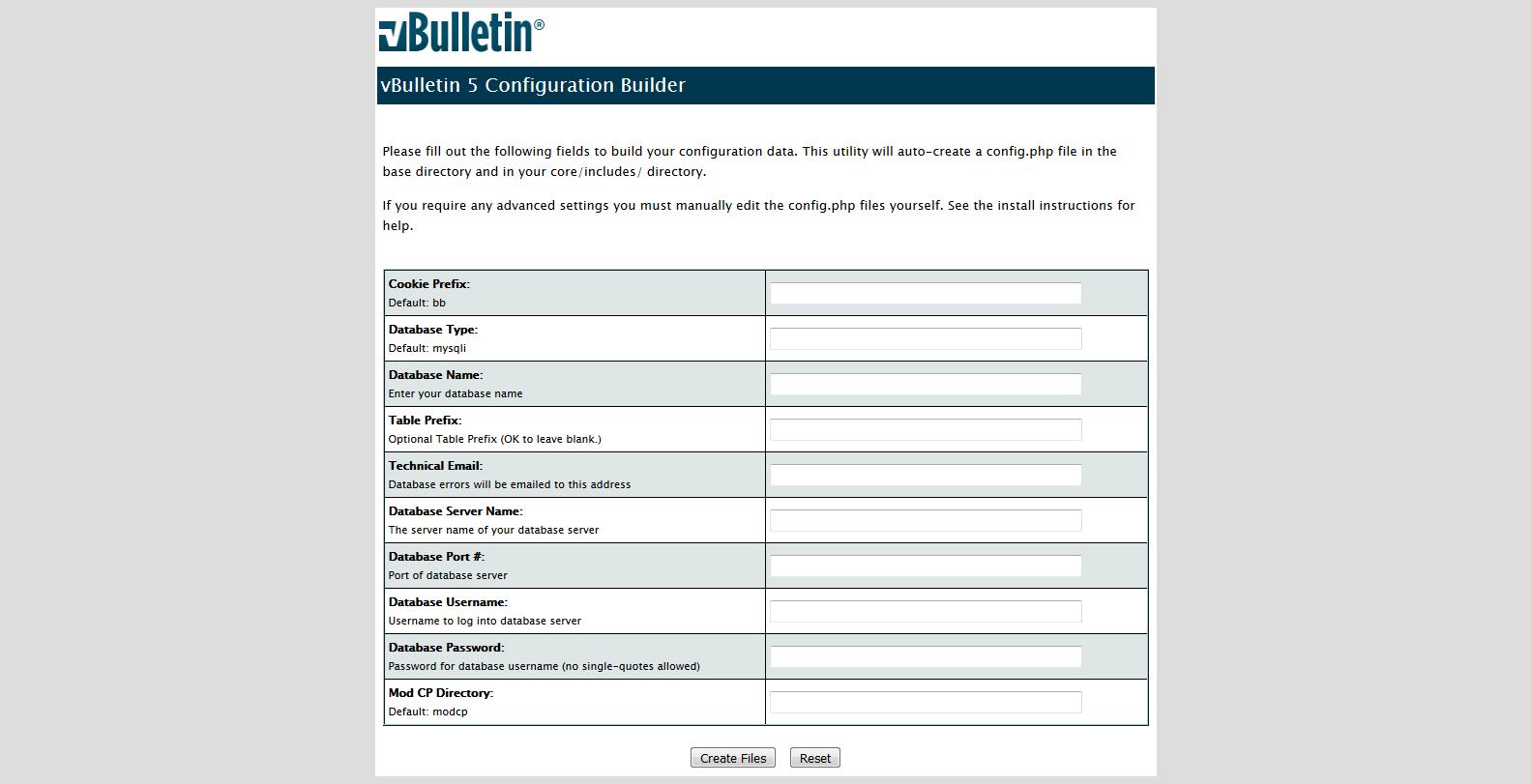 Come installare vBulletin 5