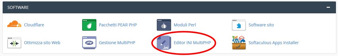 Come aumentare l'upload delle immagini in WP con cpanel