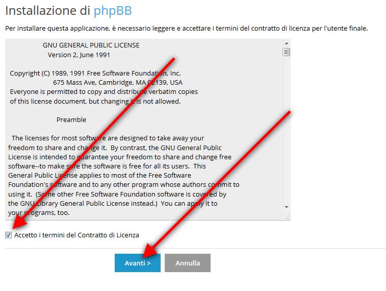 Come installare PhpBB automaticamente con plesk