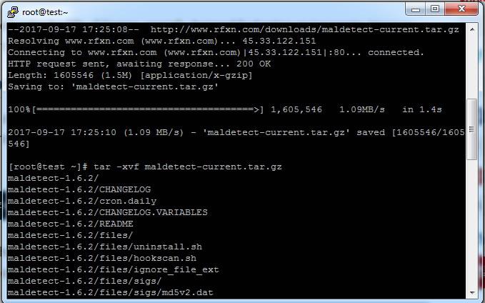 Immagine della guida Come installare Maldet (antimalware) e ClamAV (antivirus) su CentOS 7 del sito Cionfs.it
