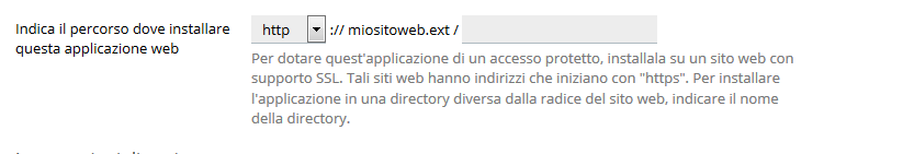 Come installare PrestaShop con l'application installer su plesk
