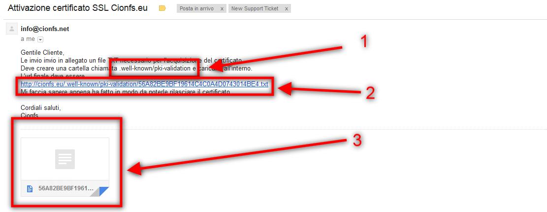 Come installare il certificato SSL su Plesk