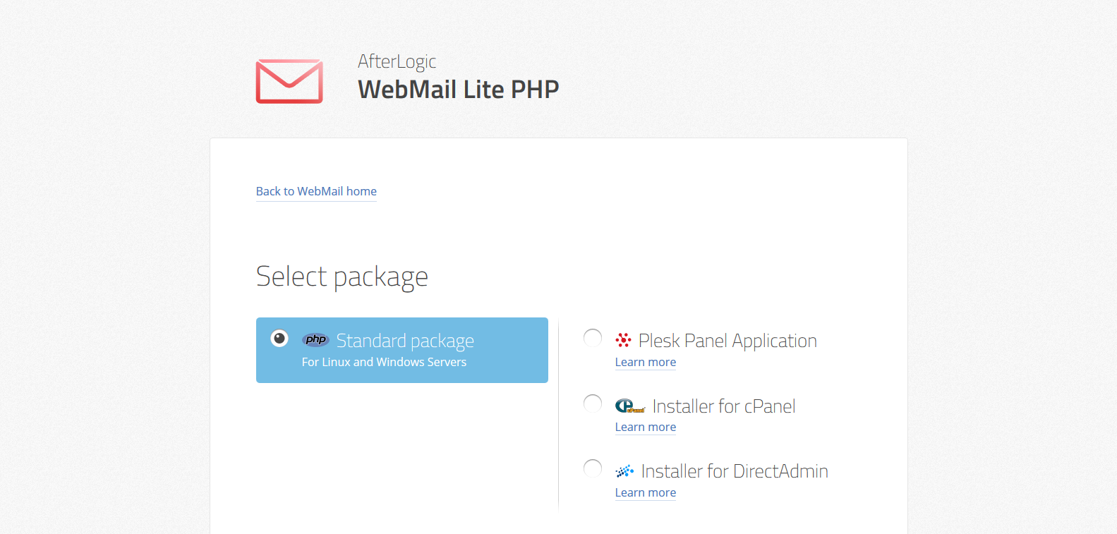 Come installare Afterlogic Webmail