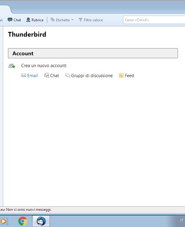 Come configurare la mail su ThunderBird su PC