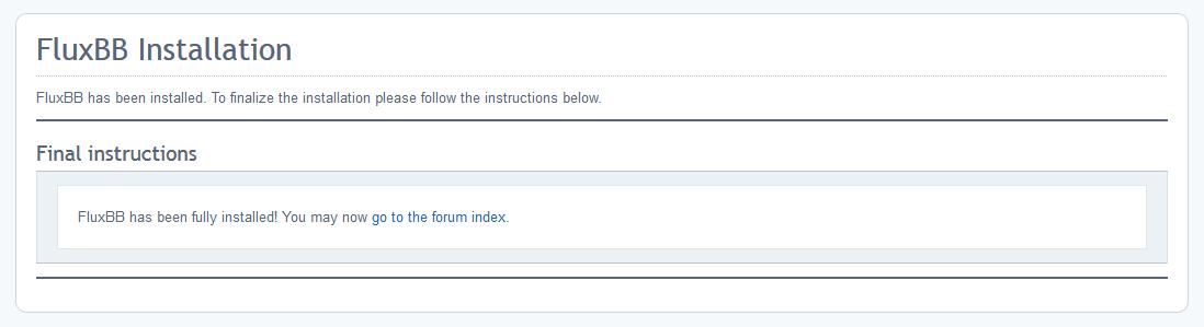 Come installare FluxBB