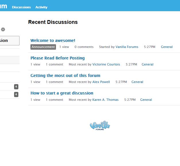 Come installare Vanilla Forum