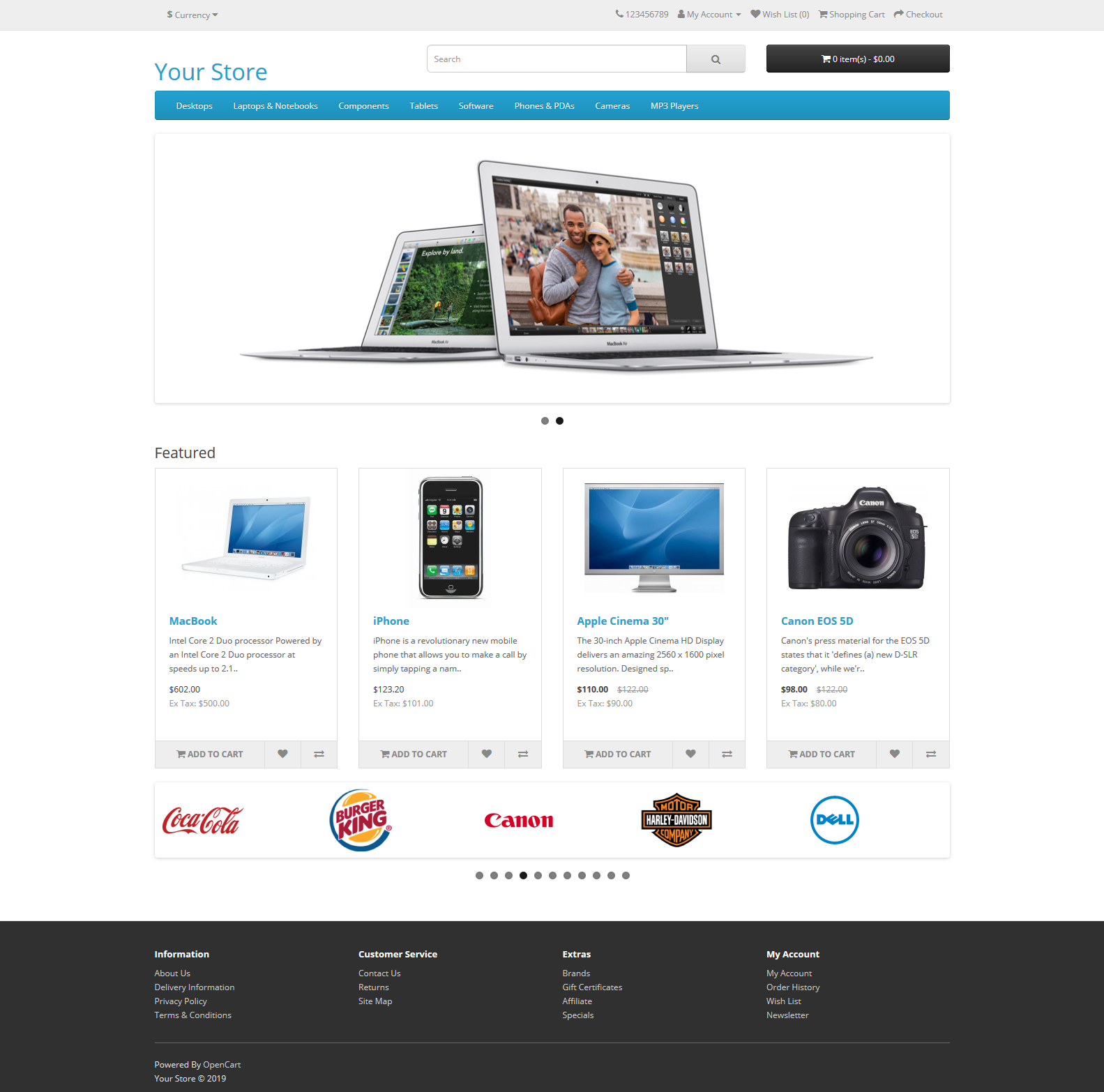 Come installare OpenCart CMS