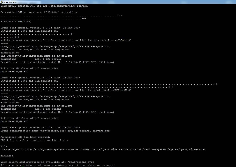 Come creare una VPN su CentOS7