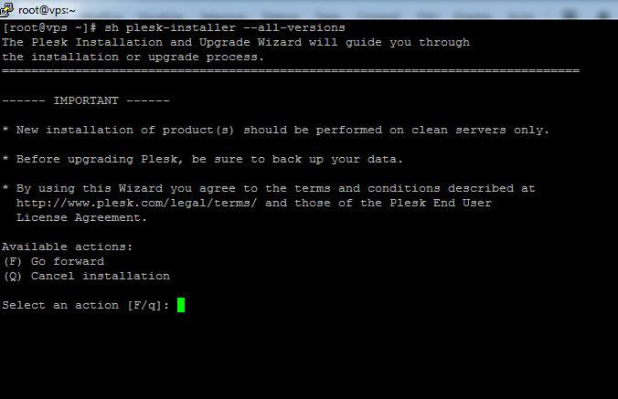 Come installare Plesk
