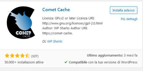 Immagine della guida Comet Cache del sito Cionfs.it