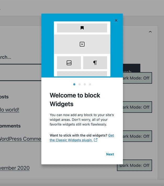 Gutenberg: disabilitare in 3 modi l'editor a blocchi